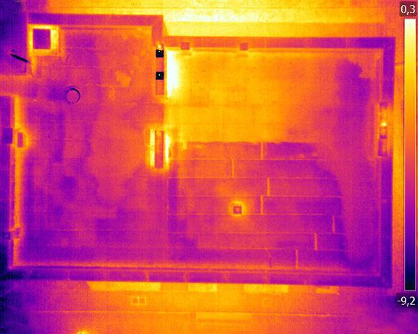 Inspekcja termowizyjna dachu