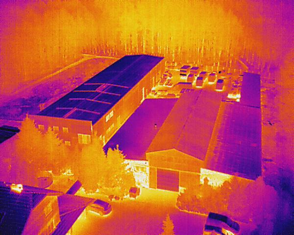 Inspekcje termowizyjne budynków