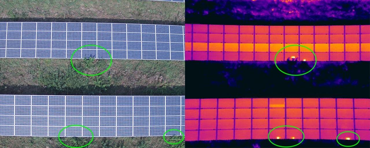 Porównanie obrazu termicznego